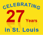 27 great years in St. Louis!